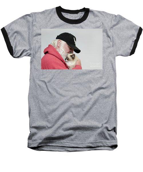 David And Mr Atkin Baseball T-Shirt