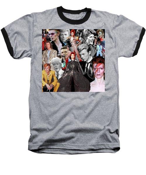 David Bowie 6 Baseball T-Shirt