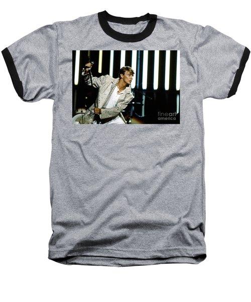 David Bowie Action Man Baseball T-Shirt