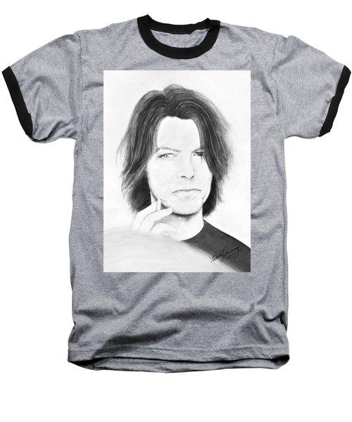 David Bowie - No Pressure Baseball T-Shirt