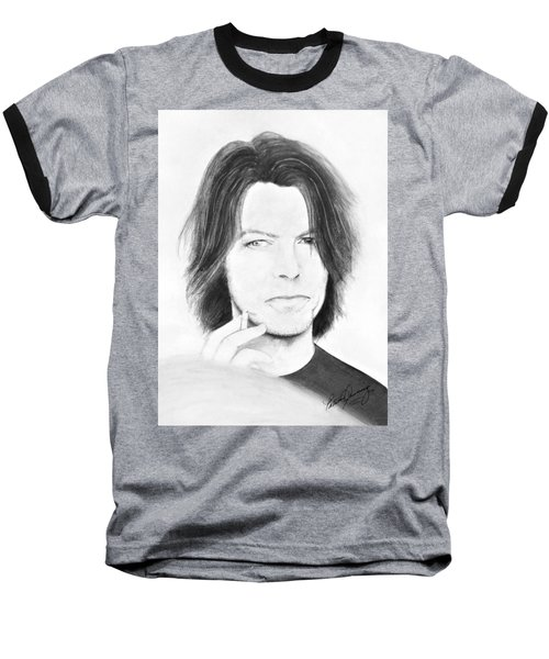 David Bowie - No Pressure Baseball T-Shirt