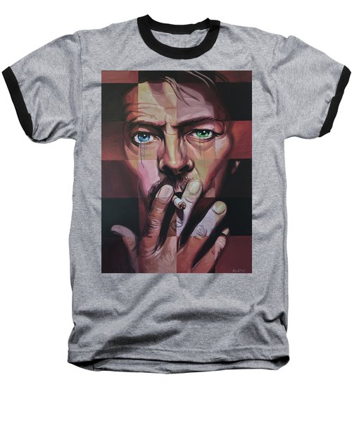 David Bowie Baseball T-Shirt