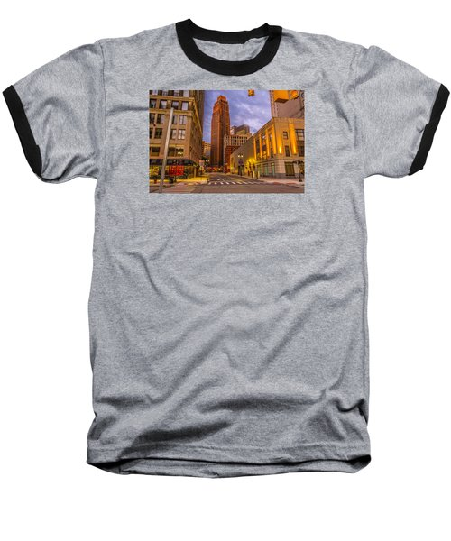 David Stott Building  Baseball T-Shirt