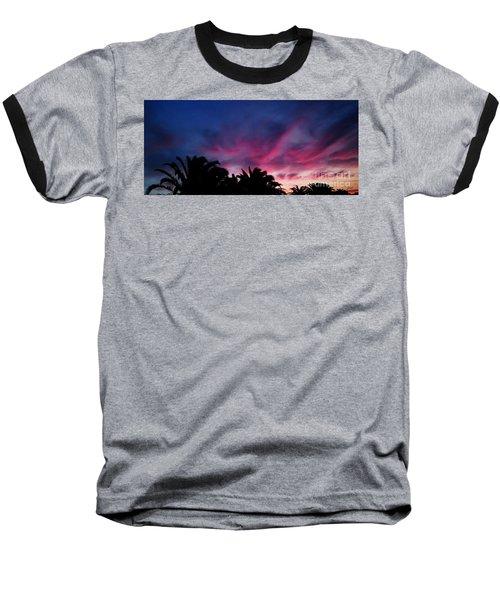 Sunrise - Alba Baseball T-Shirt by Zedi
