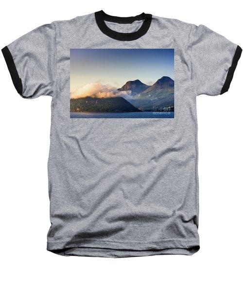 Dawn Along The Nordfjord  Baseball T-Shirt