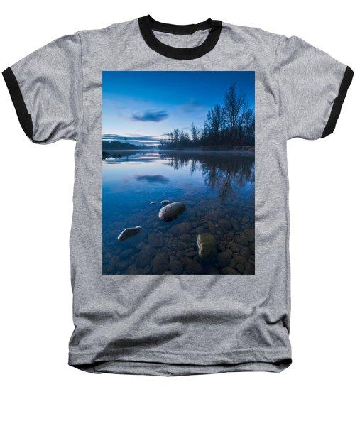 Dawn At River Baseball T-Shirt