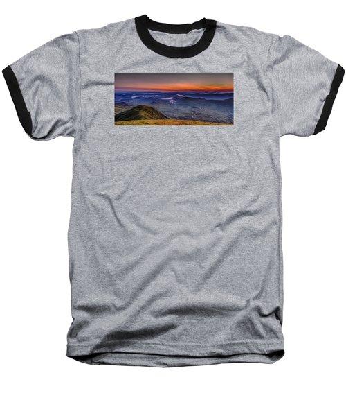 Dawn At The Merrick Summit Baseball T-Shirt