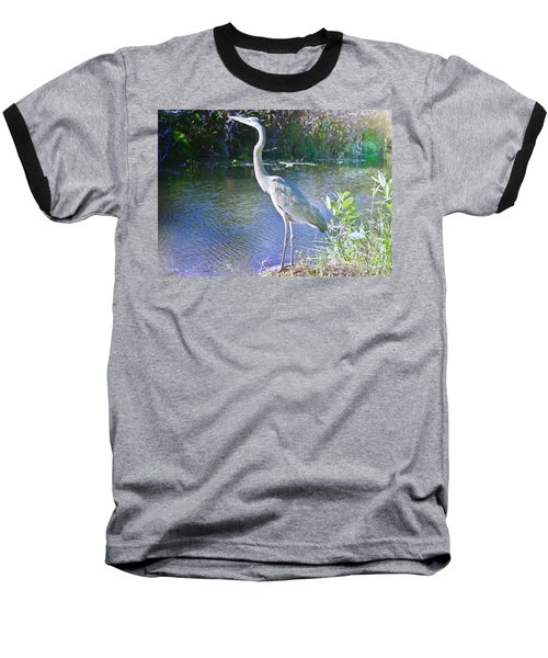 Dawn Breaking Baseball T-Shirt by Judy Kay