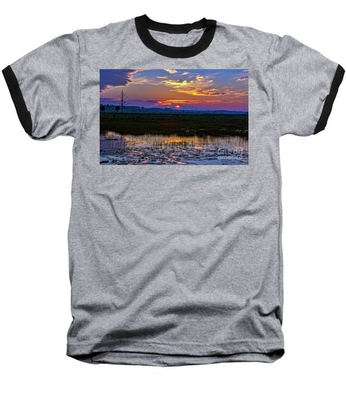 Dawn Breaking Over Saint Marks Baseball T-Shirt