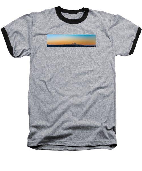 Dawn Breaks Baseball T-Shirt by James Heckt