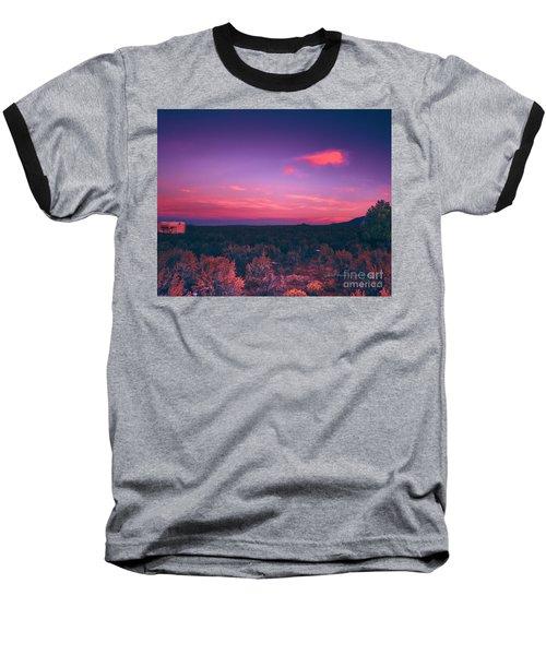 Dawn In Taos Baseball T-Shirt