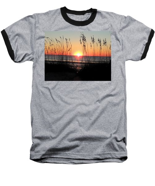 Dawn Of The Eclipse Baseball T-Shirt
