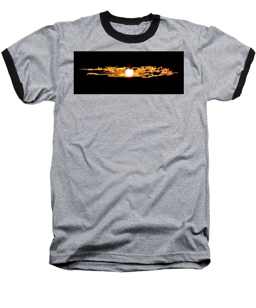 Baseball T-Shirt featuring the photograph Dawn Of The Golden Age by Az Jackson