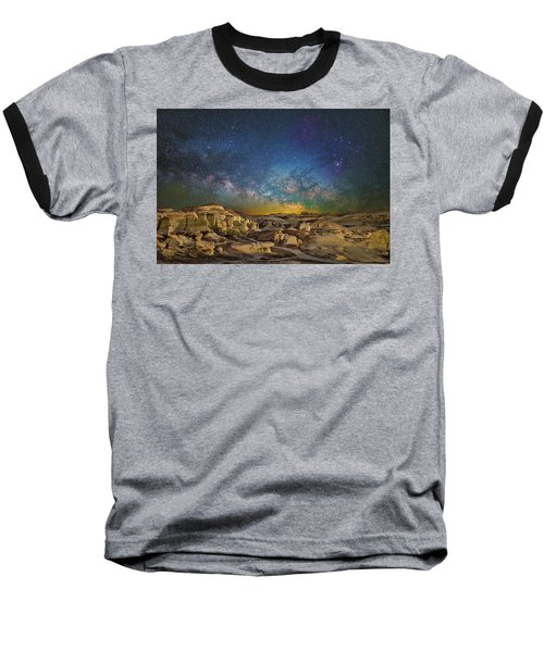 Dawn Of The Universe Baseball T-Shirt
