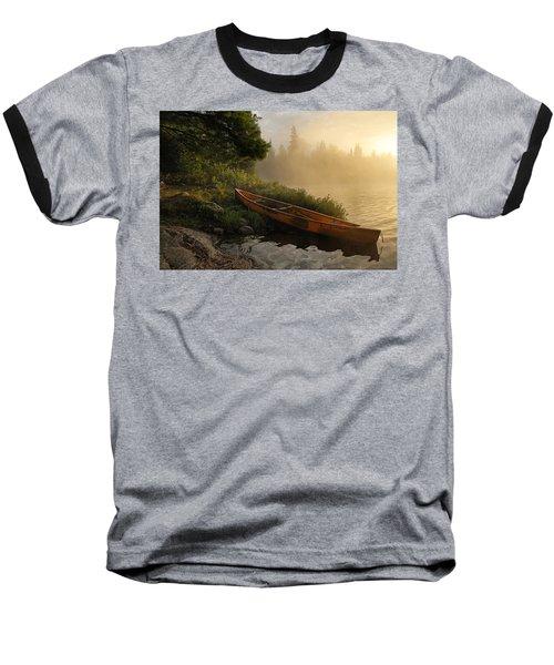 Dawn On Boot Lake Baseball T-Shirt