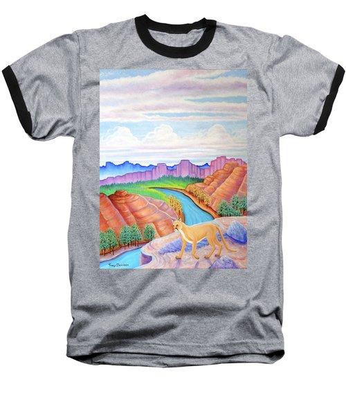 Dawn Patrol Baseball T-Shirt by Tracy Dennison
