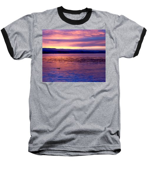 Dawn Patrol Baseball T-Shirt by Lora Lee Chapman
