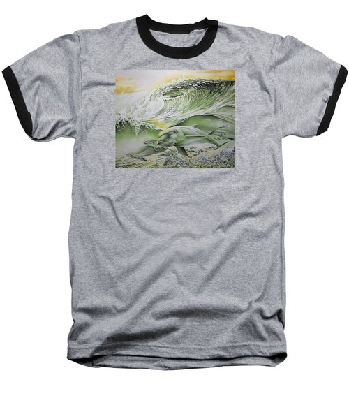 Dawn Patrol Baseball T-Shirt