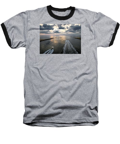 Dawn Race To The Fish Baseball T-Shirt