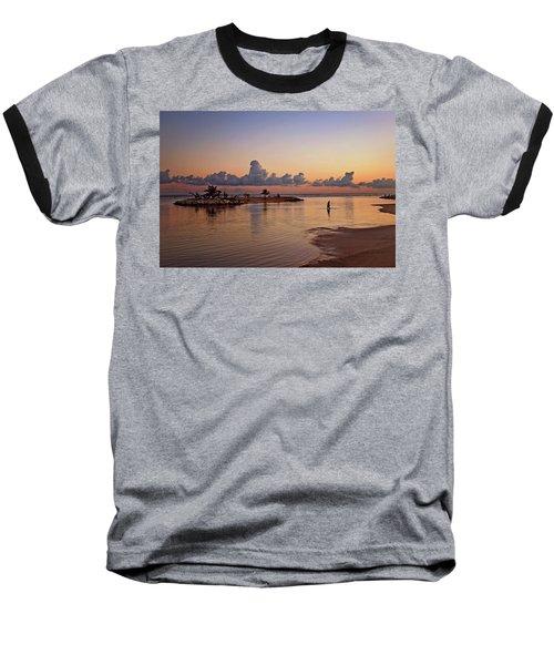 Dawn Reflection Baseball T-Shirt