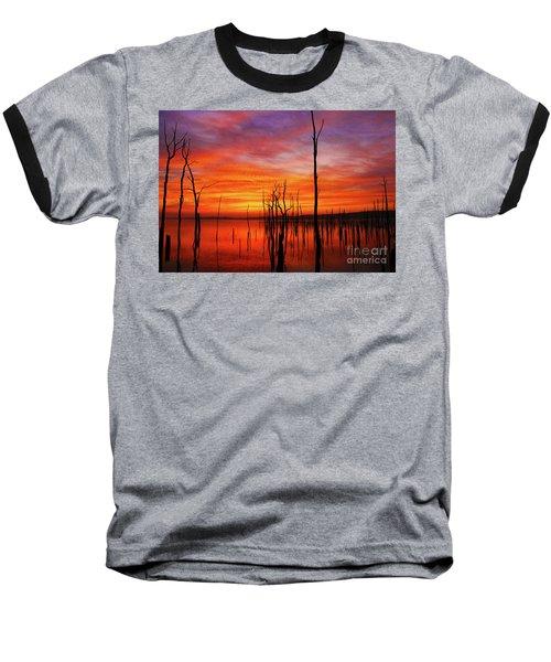 Dawns Approach Baseball T-Shirt