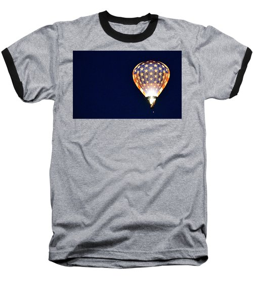 Baseball T-Shirt featuring the photograph Dawns Early Light by AJ Schibig
