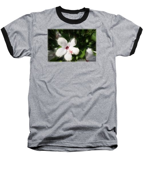 Baseball T-Shirt featuring the photograph Dawns Flower Of The Morning by Sherri  Of Palm Springs