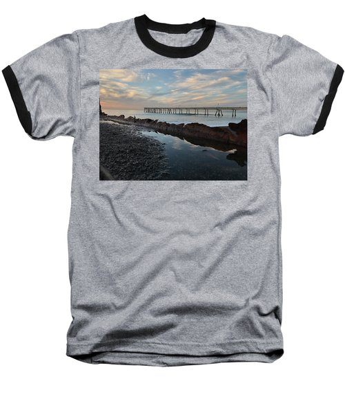 Day At The Pier Baseball T-Shirt