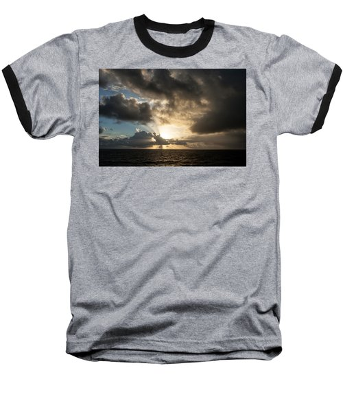 Day Break Baseball T-Shirt by Allen Carroll