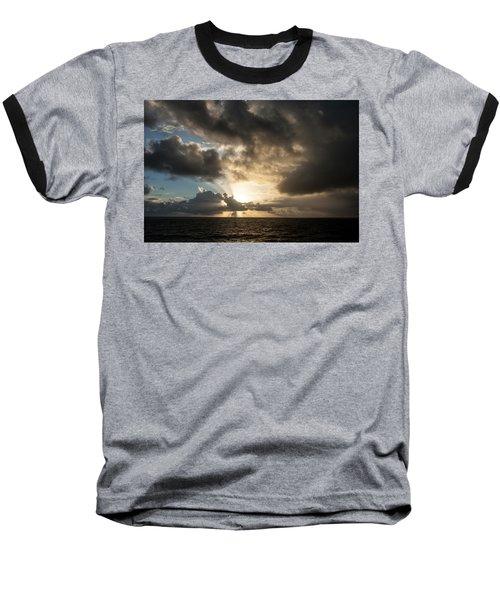 Baseball T-Shirt featuring the photograph Day Break by Allen Carroll