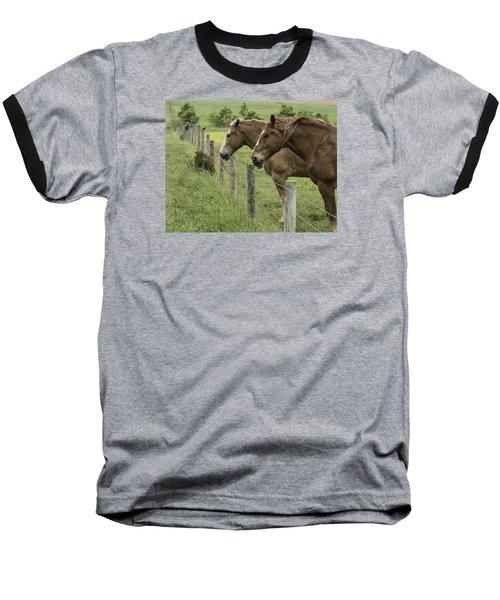Day Dreamers Baseball T-Shirt by Elizabeth Eldridge