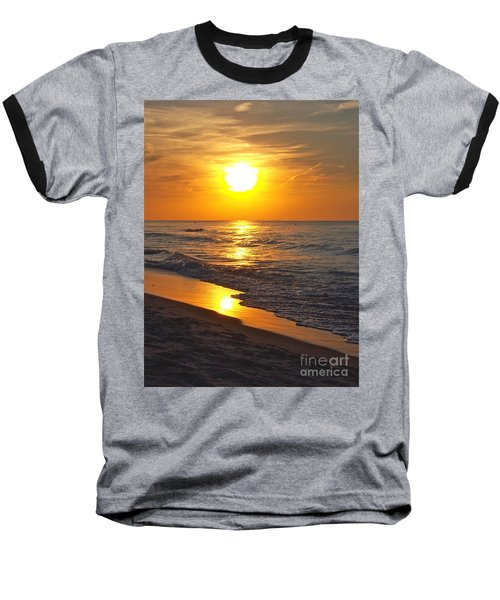 Day Is Done Baseball T-Shirt by Pamela Clements