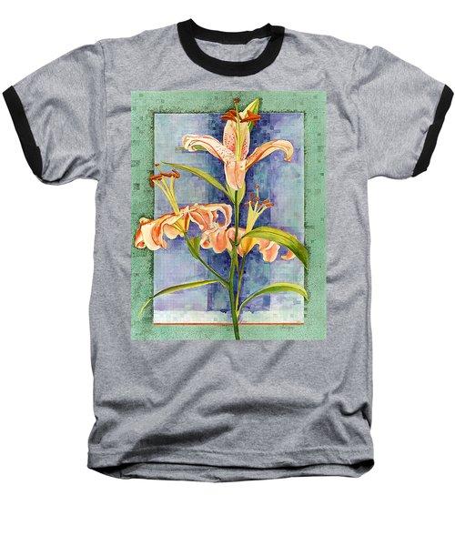 Day Lily Baseball T-Shirt