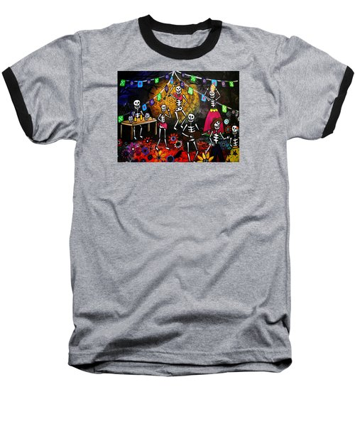 Day Of The Dead Festival Baseball T-Shirt