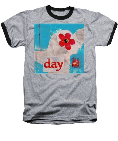 Day Baseball T-Shirt by Patricia Cleasby