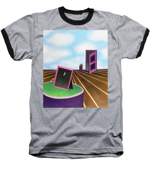 Baseball T-Shirt featuring the painting Day by Thomas Blood