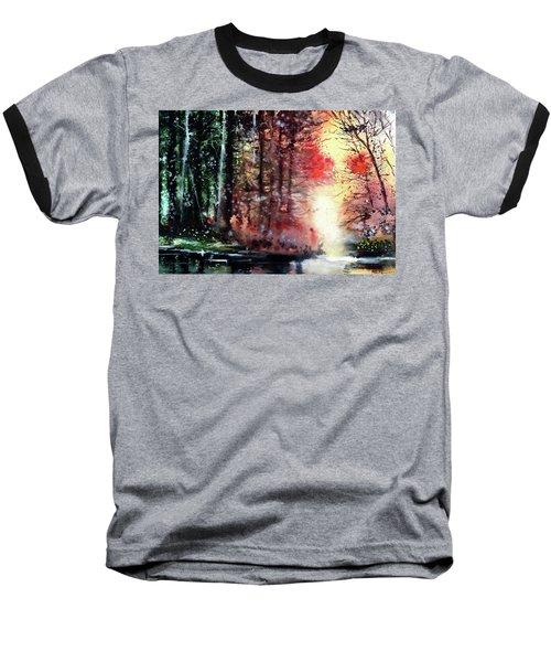 Daybreak 2 Baseball T-Shirt by Anil Nene