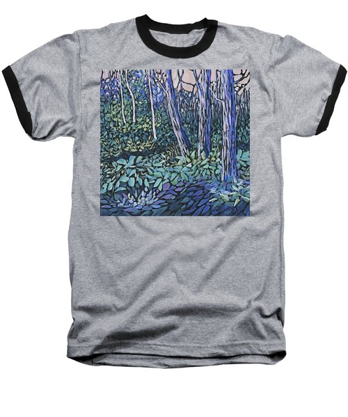 Baseball T-Shirt featuring the painting Daybreak by Joanne Smoley