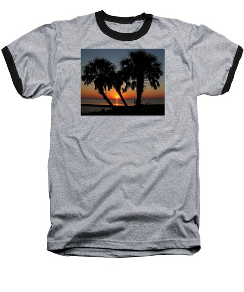Baseball T-Shirt featuring the photograph Daybreak by Judy Vincent