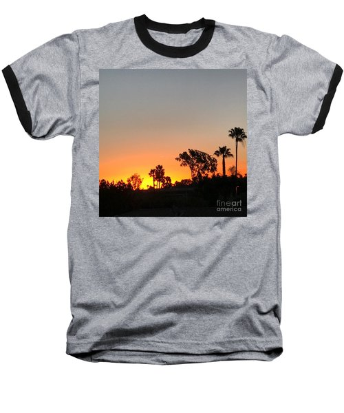 Baseball T-Shirt featuring the photograph Daybreak by Kim Nelson