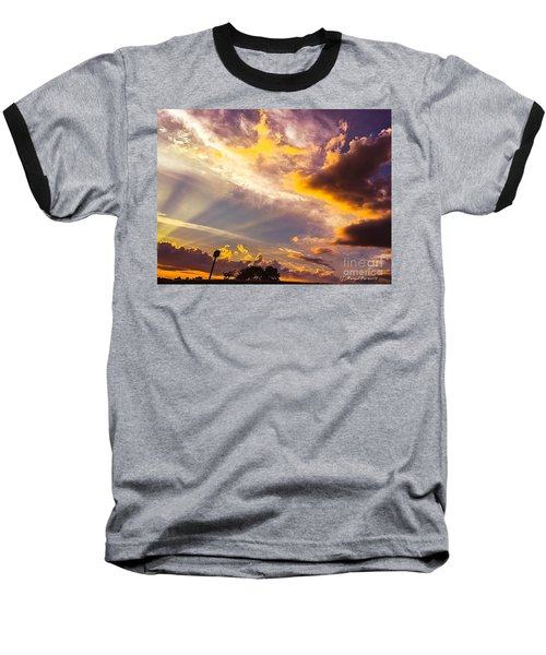 Daybreak Baseball T-Shirt by MaryLee Parker