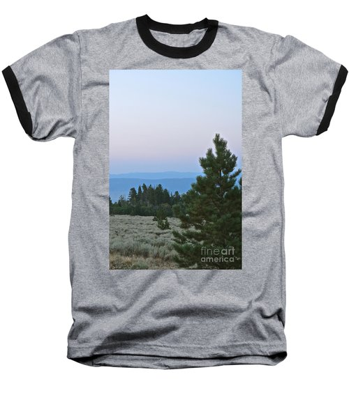 Daybreak On The Mountain Baseball T-Shirt