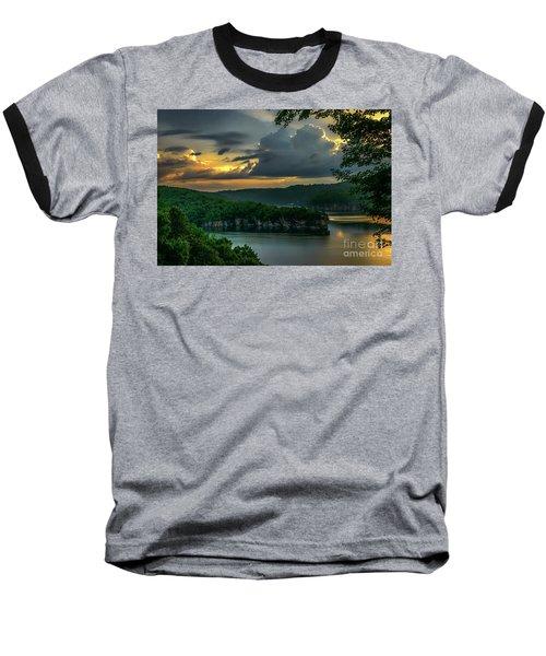 Daybreak Over Long Point Baseball T-Shirt
