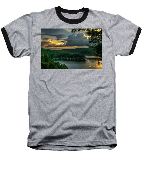 Daybreak Over Long Point Baseball T-Shirt