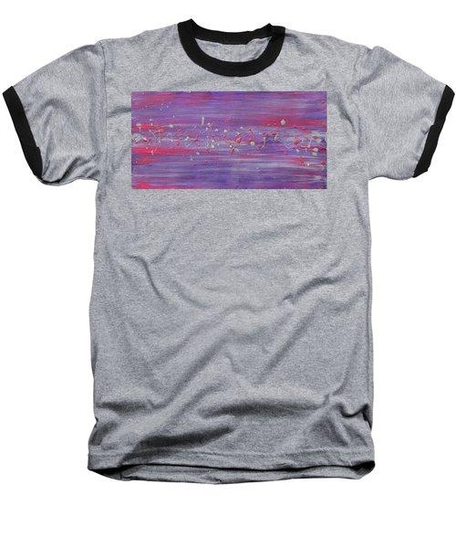 Daydream In Purple Baseball T-Shirt