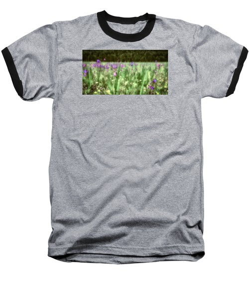 Daydreams In A Meadow Baseball T-Shirt by Rick Furmanek