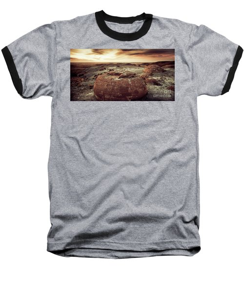 Daylight Leaving Redrock Baseball T-Shirt