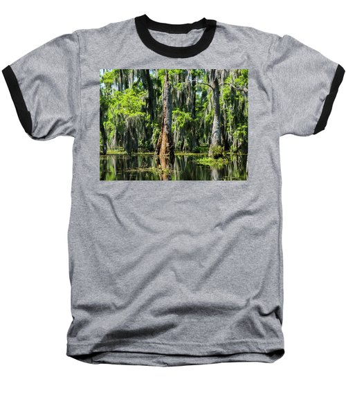 Daylight Swampmares Baseball T-Shirt by Kimo Fernandez