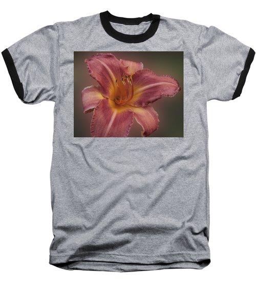 Daylily Blur Baseball T-Shirt