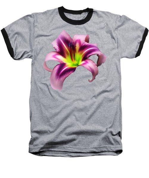 Daylily Star  Baseball T-Shirt